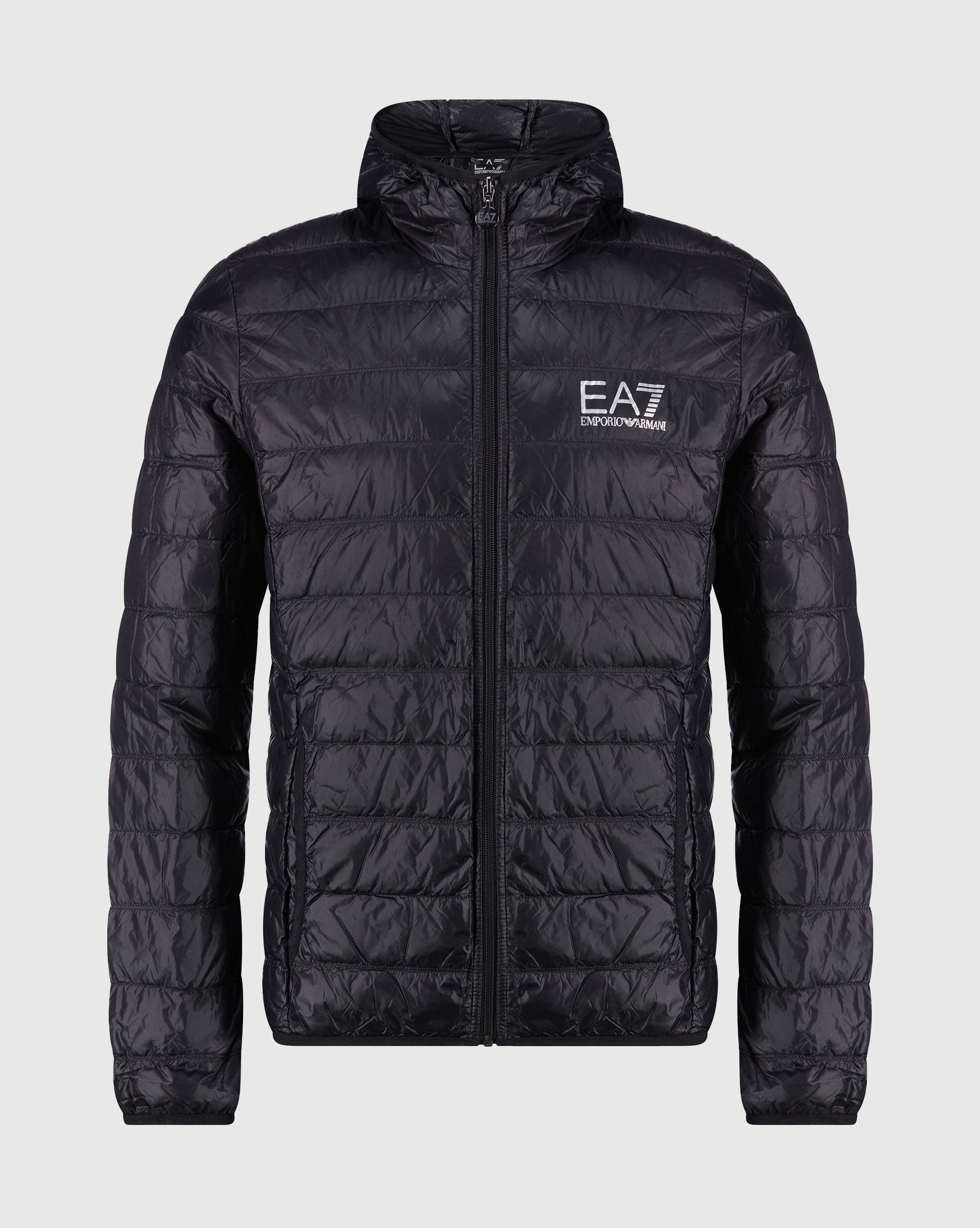 EA7 Giacca Piumino Nero Uomo