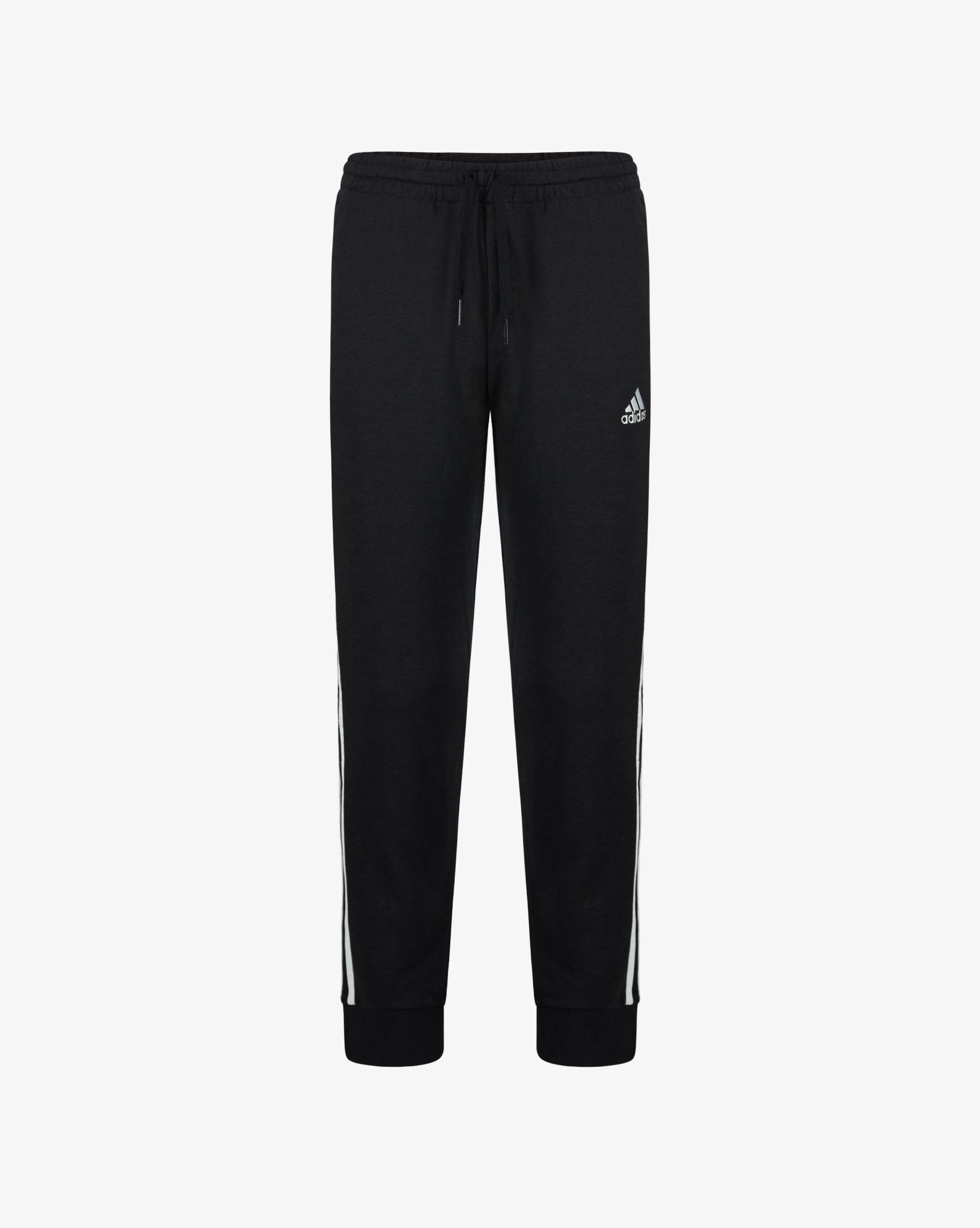 Adidas Pantaloni Essentials French Terry Tapered Cuff 3-Stripes Uomo