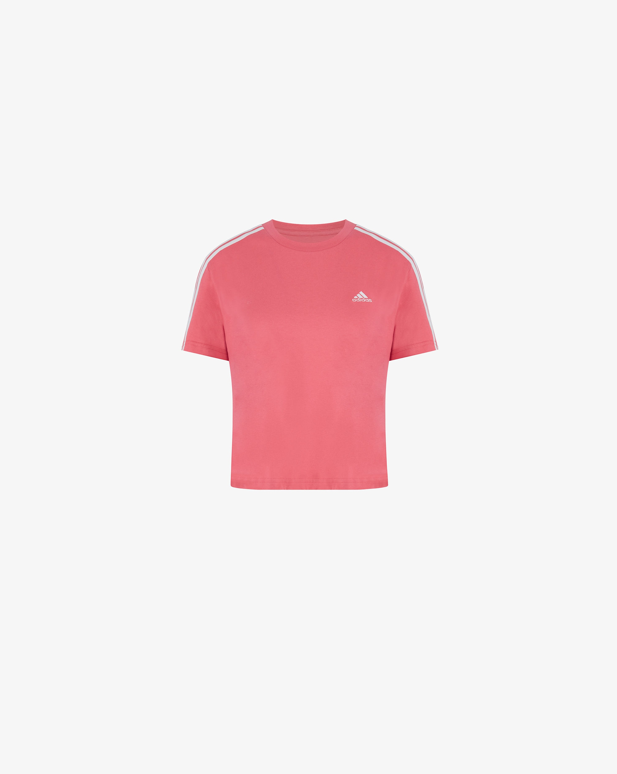 Adidas T-shirt Cropped Essentials Loose 3-Stripes Donna