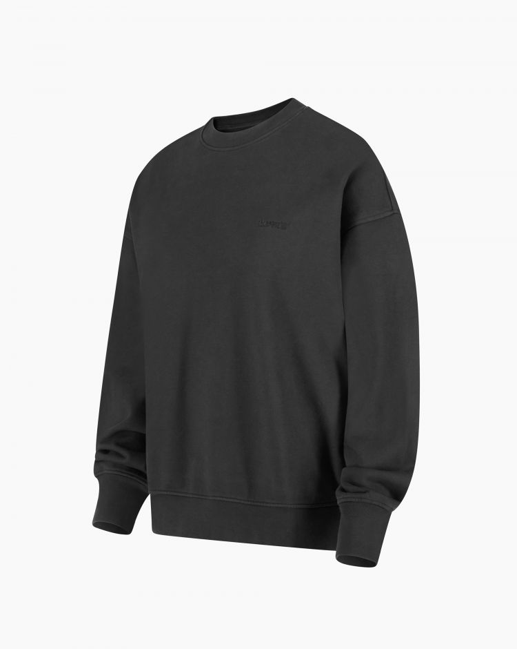 Levi's Wfh Sweatshirt Nero Donna