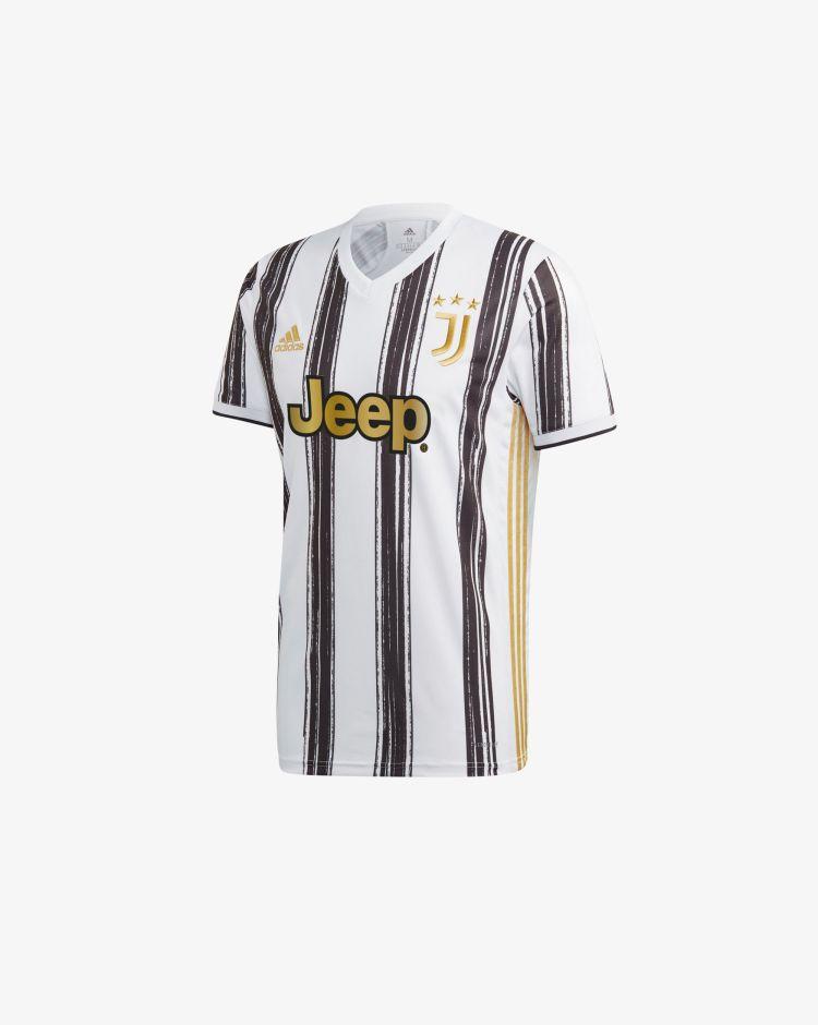 Adidas Juventus Home 2020/2021 T-Shirt Replica Uomo