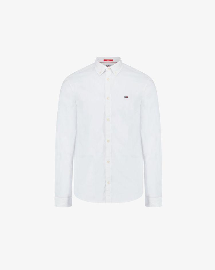 Tommy Hilfiger Camicia slim Oxford con logo Uomo