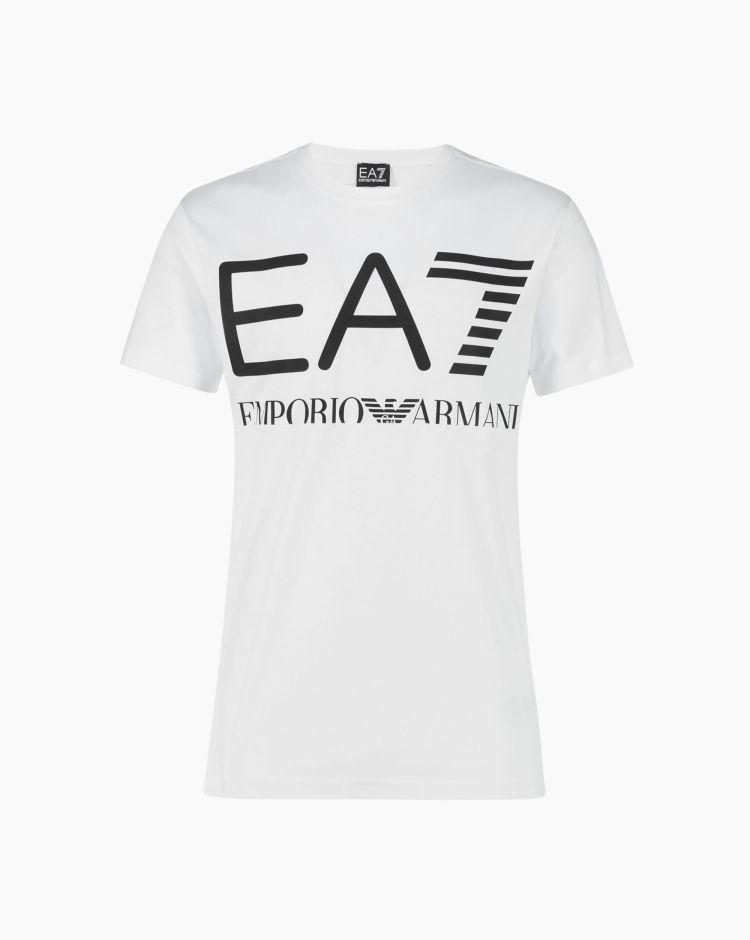 EA7 T-Shirt Bianco Uomo