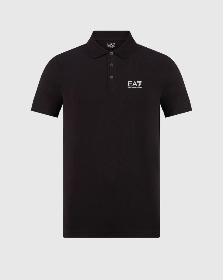 Emporio Armani Polo in jersey di cotone con logo Uomo