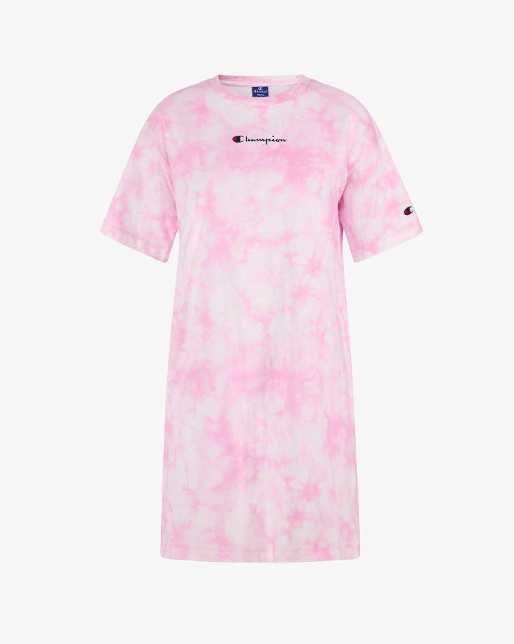 Champion Abito a T-Shirt con stampa tie-dye