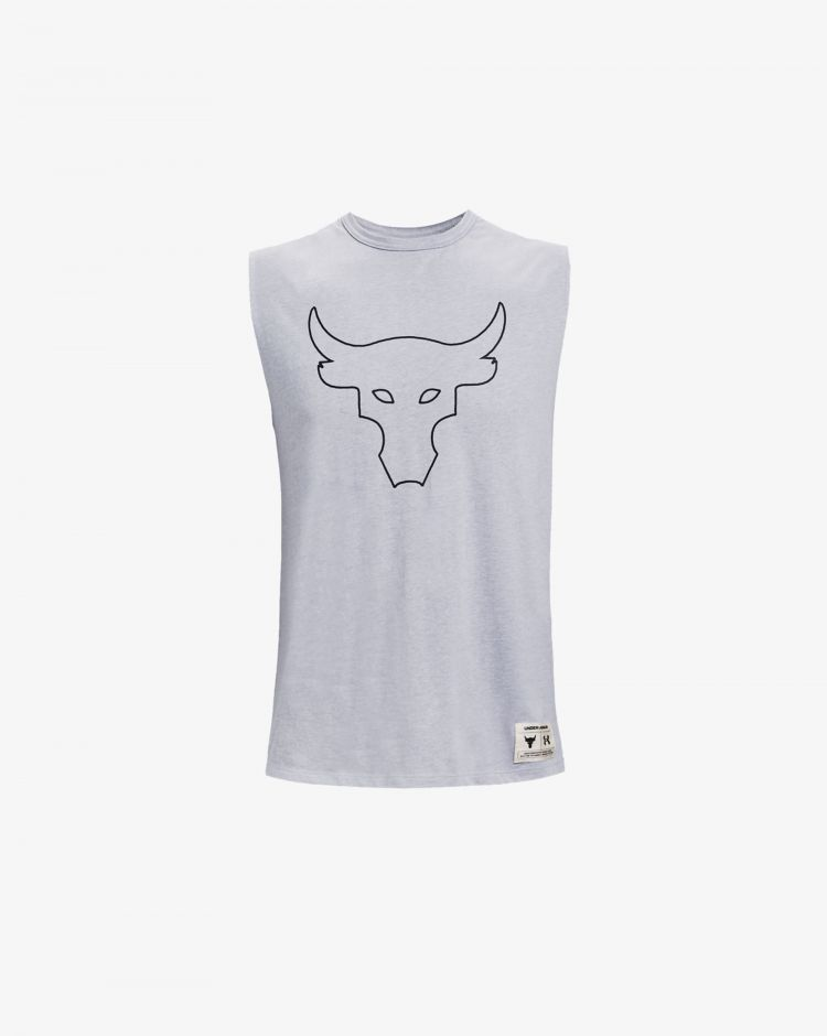 Under Armour Top Project Rock Show Your Work Uomo