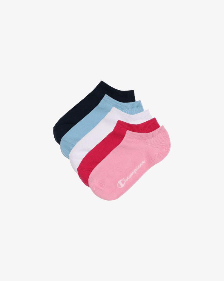 Champion Set da 5 ghost socks Bambina