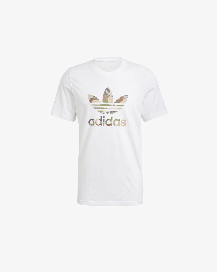 Adidas Originals T-shirt Camo Trefoil Uomo