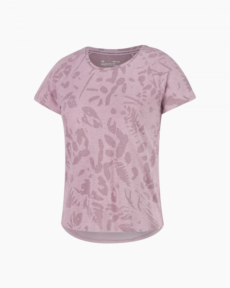Under Armour Streaker Forest Ss Rosa Donna