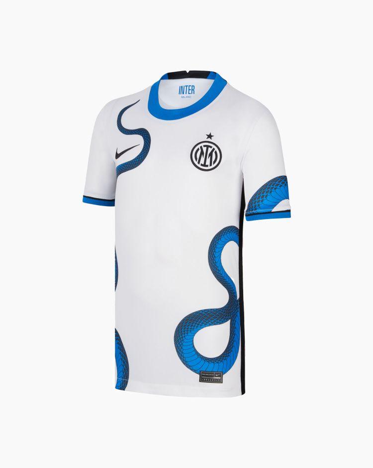 Nike T-shirt Inter 2021/22 Stadium Away   Bambino