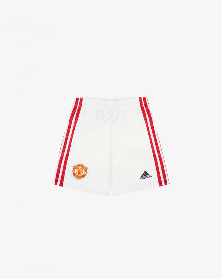 Adidas Manchester United Home 2020/2021 Short Replica Bambino