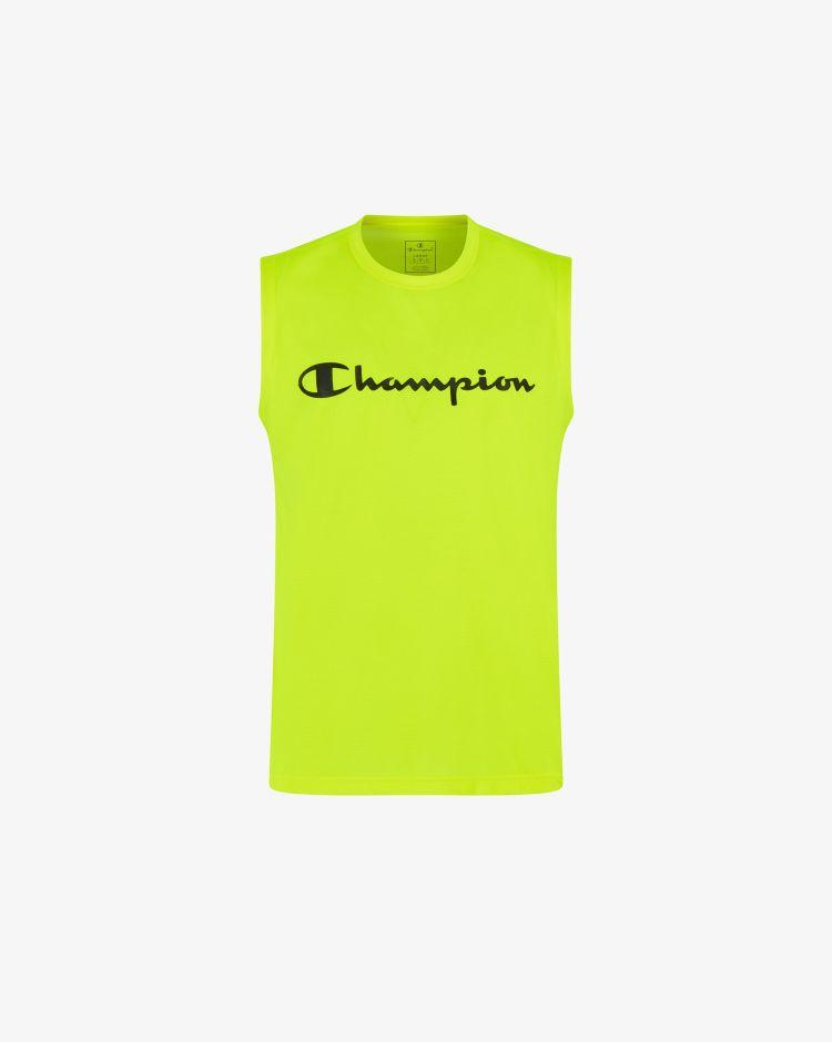 Champion Top in mesh con logo Uomo
