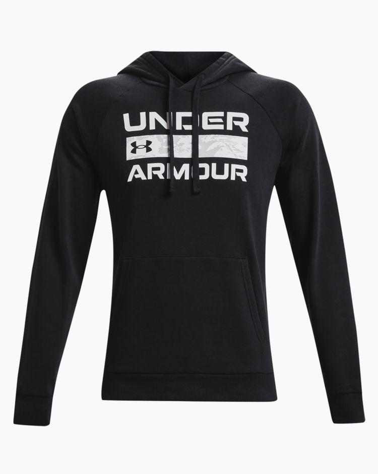 Under Armour Rival Flc Signature Hd Nero Uomo