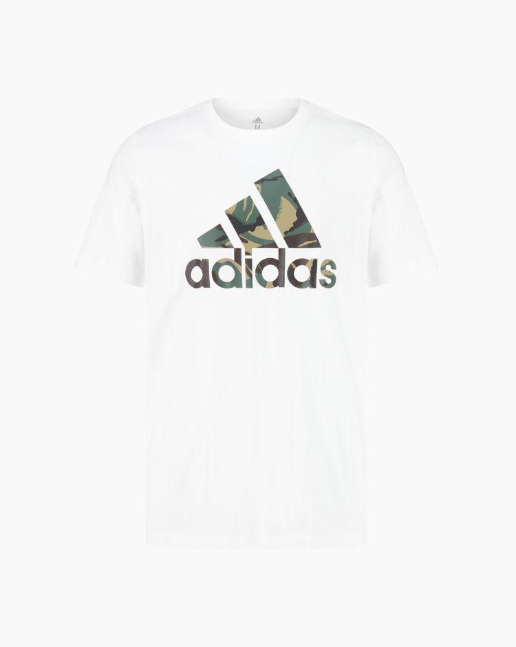Adidas Camo T Bianco Uomo