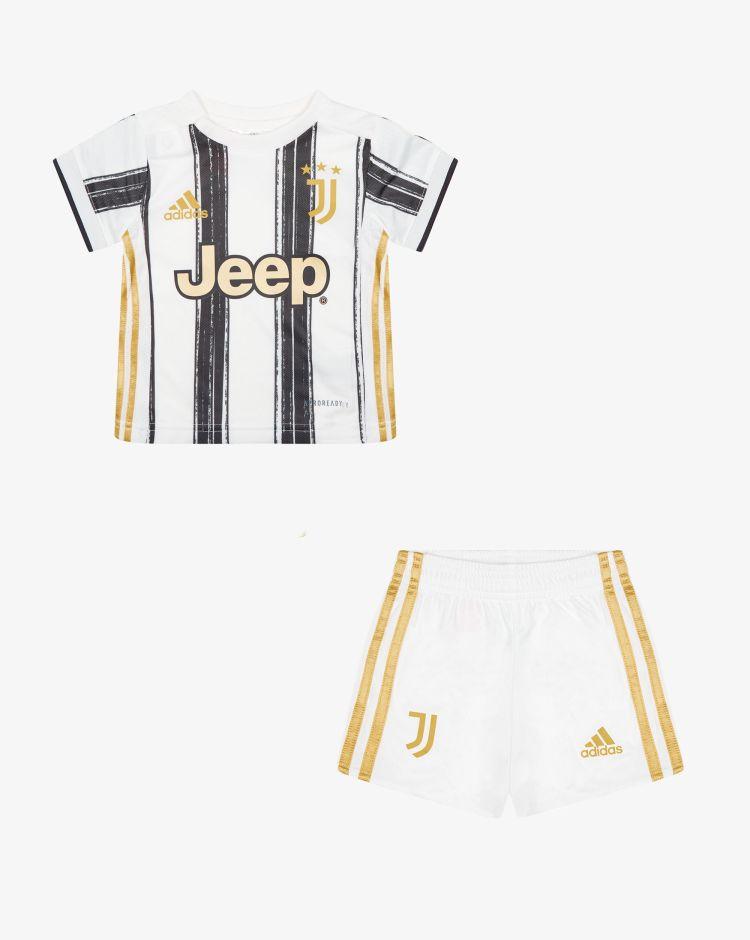 Adidas Divisa Baby Home Juventus 2020/2021 - Set 2 pezzi Bambino