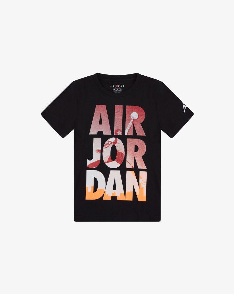 Nike Jordan T-shirt Dunk Fade Bambino