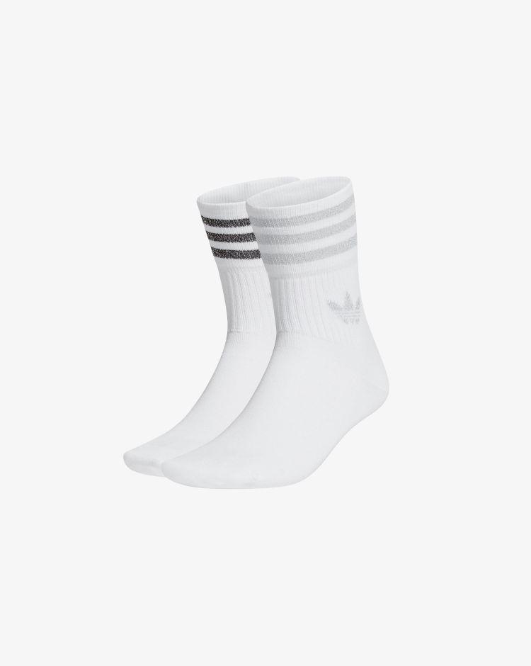 Adidas Calzini Mid|Cut Glitter (2 paia) Unisex