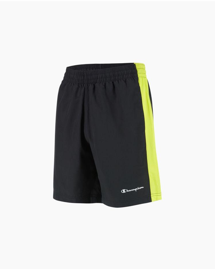 Champion Shorts con inserti in mesh Nero Uomo