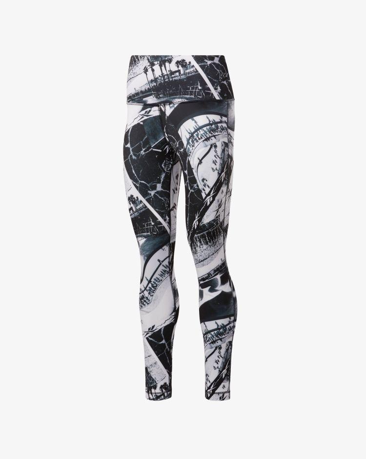 Reebok Leggings Workout Ready Printed Donna