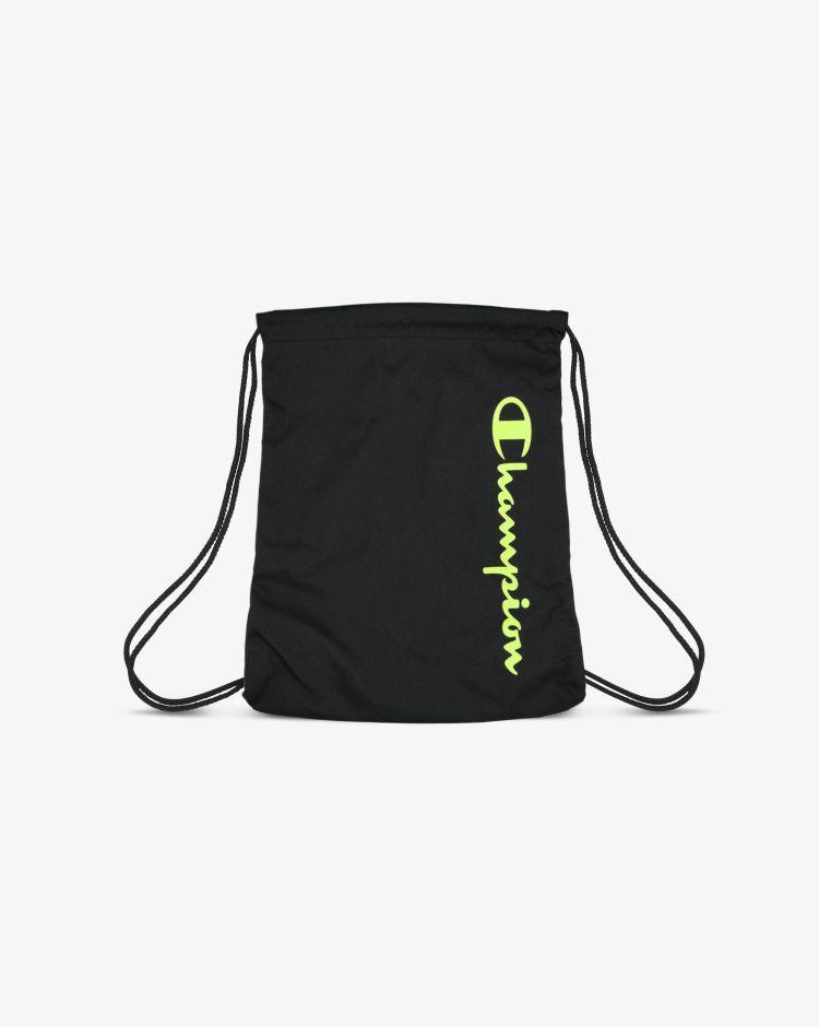 Champion Sacca con logo nera
