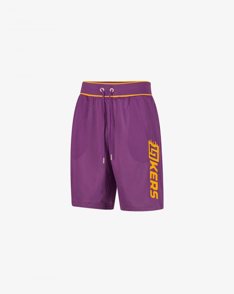 Champion Shorts LA Lakers in mesh Uomo