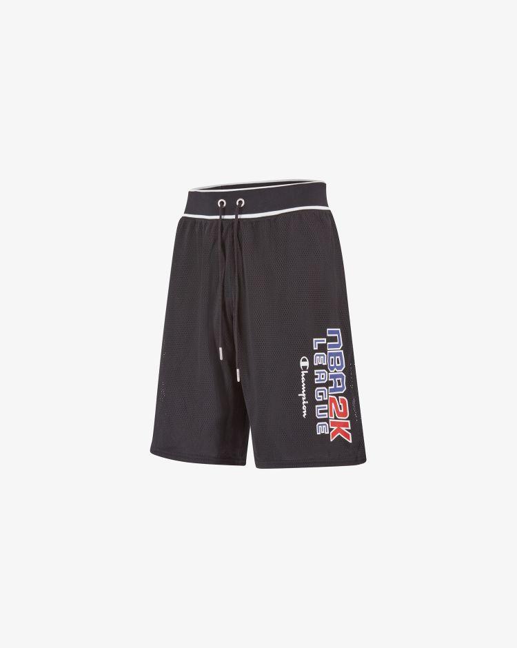 Champion Shorts NBA 2K League in mesh Uomo