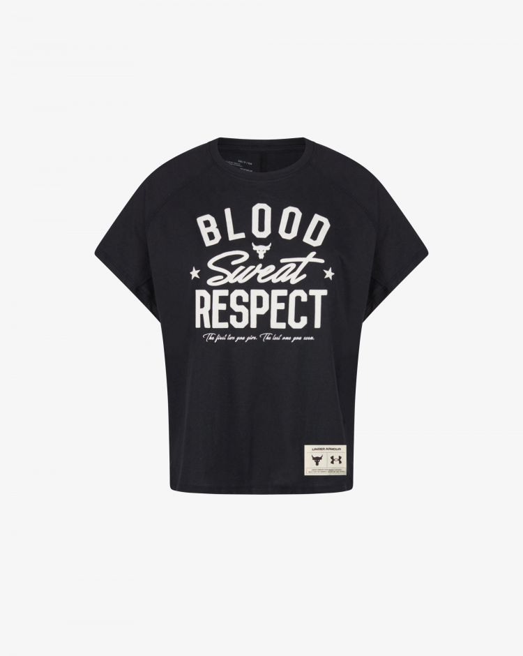 Under Armour T-shirt Project Rock BSR Donna