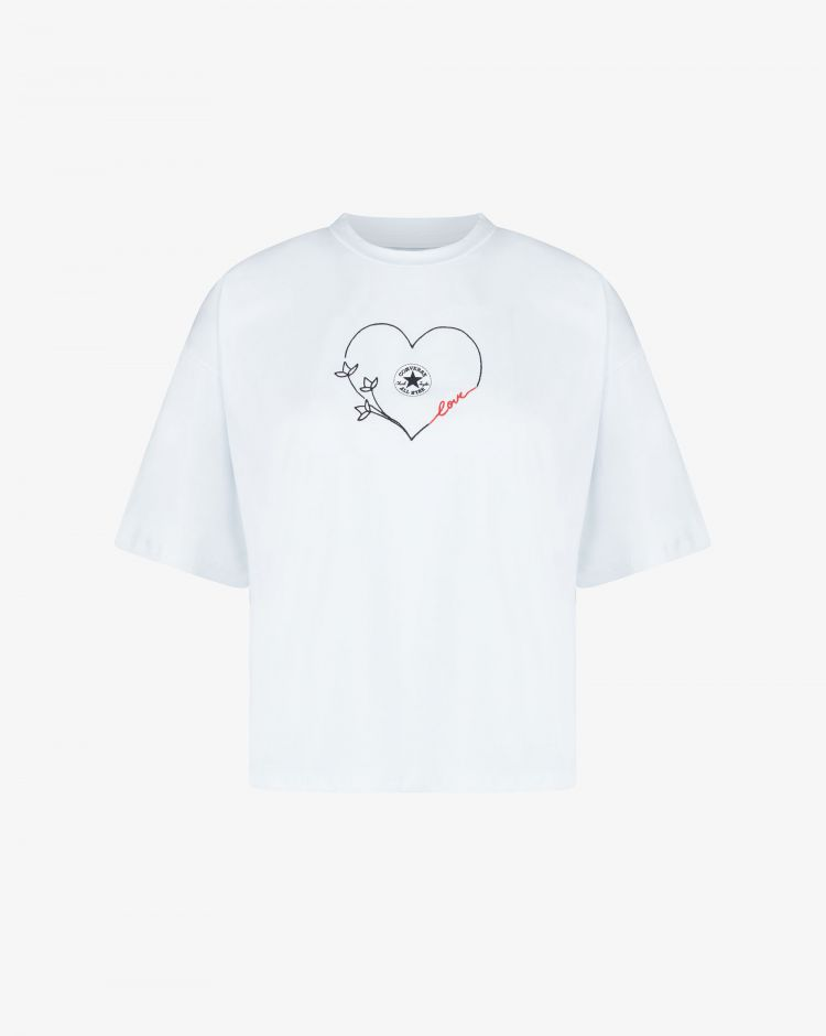 Converse T-shirt Chuck Regular Tee Donna
