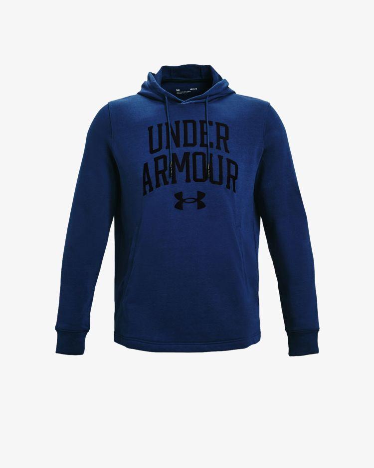 Under Armour Felpa con cappuccio UA Rival Terry Collegiate Uomo