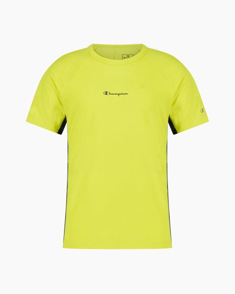 Champion T-shirt con inserti in mesh Giallo Uomo