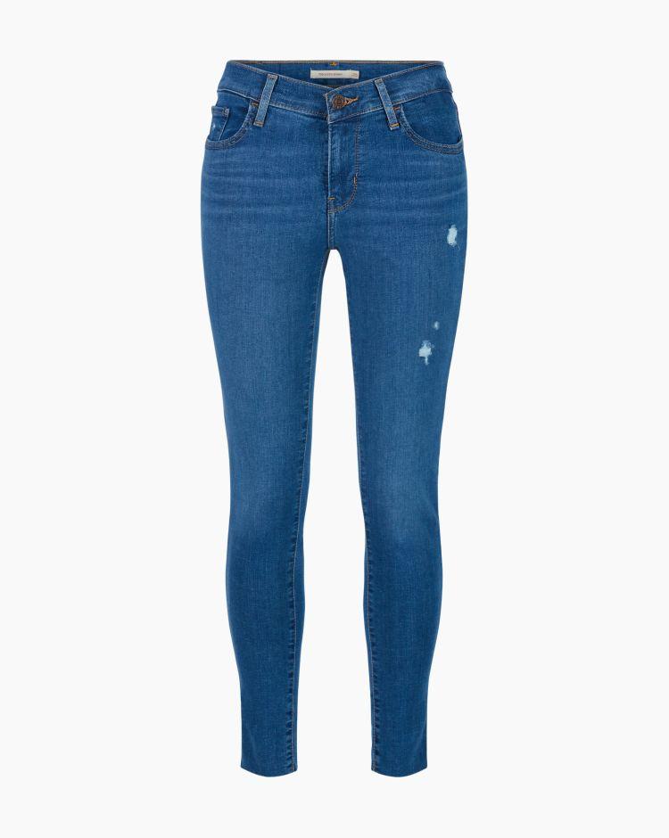 Levi's 710 Super Skinny Quebec Blu Donna