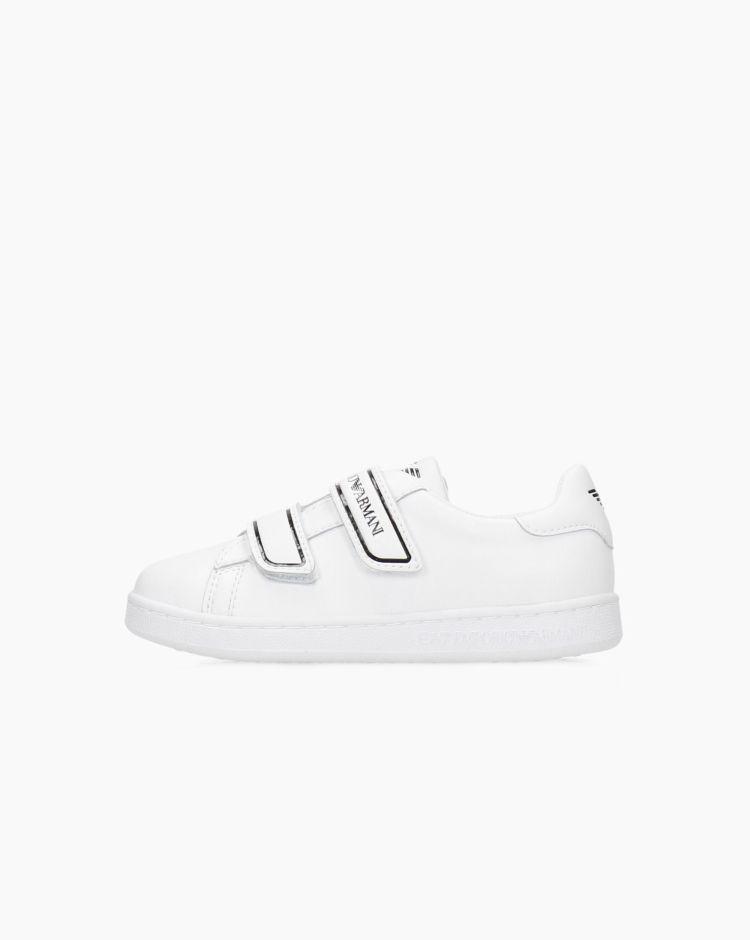 EA7 Classic Strap Bianco Bambino