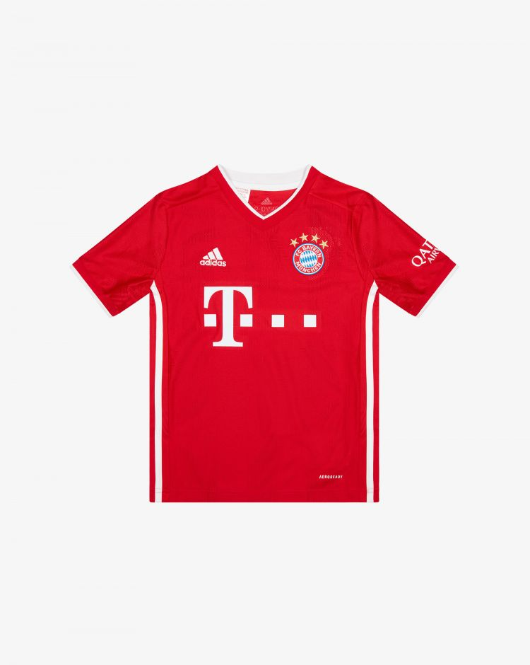 Adidas Bayern München Home 2020/2021 T-Shirt Replica Bambino