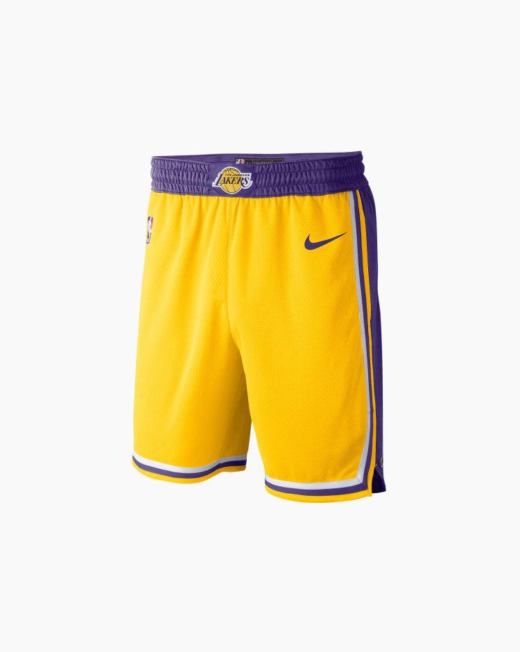 Nike Shorts Los Angeles Lakers Icon Edition   Uomo