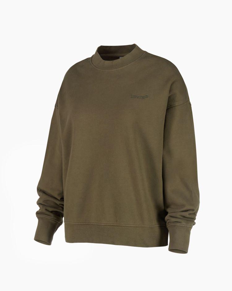 Levi's Wfh Sweatshirt Verde Donna