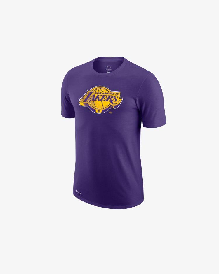 Nike NBA Los Angeles Lakers Earned Edition T-Shirt Uomo