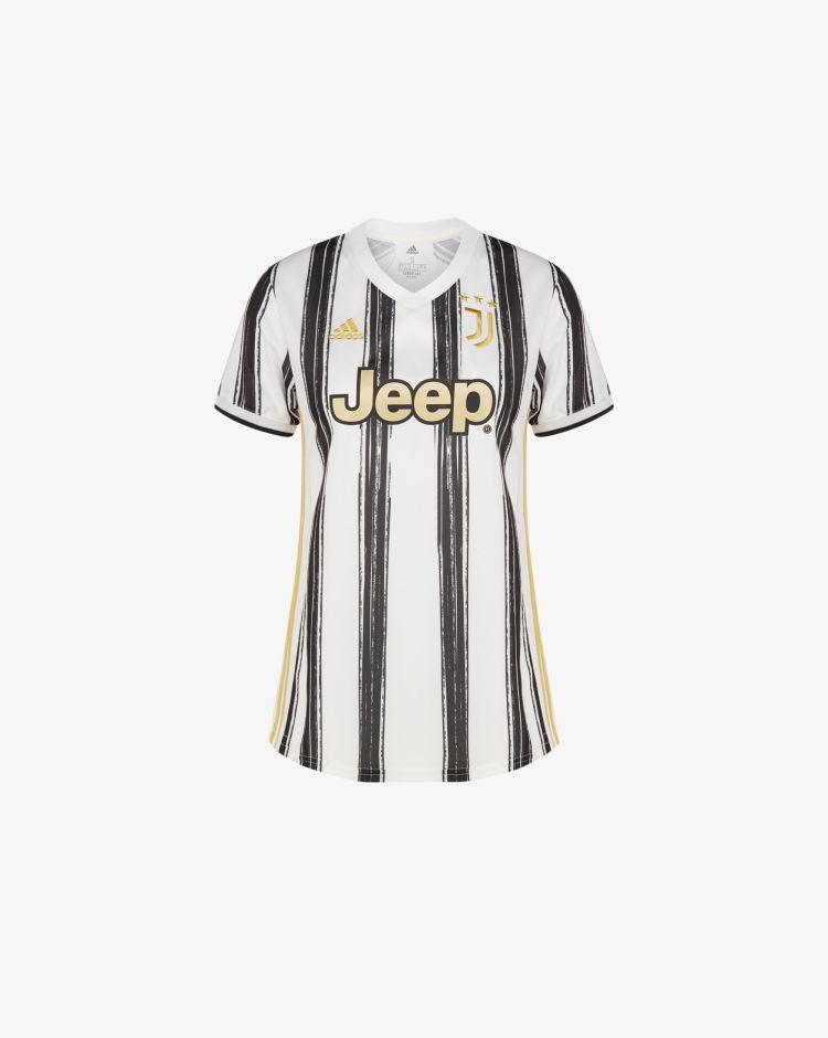 Adidas Juventus Home 2020/2021 T-Shirt Replica Donna