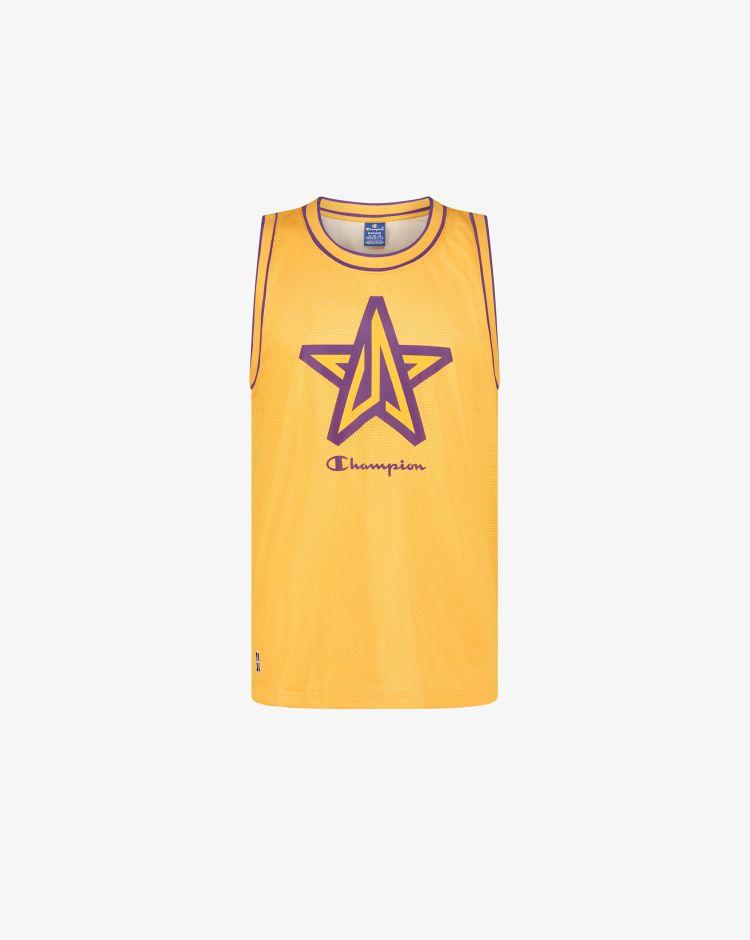 Champion Top LA Lakers in mesh Uomo