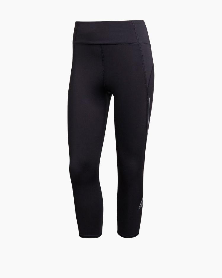 Adidas Leggings 3/4 Own The Run  Nero Donna