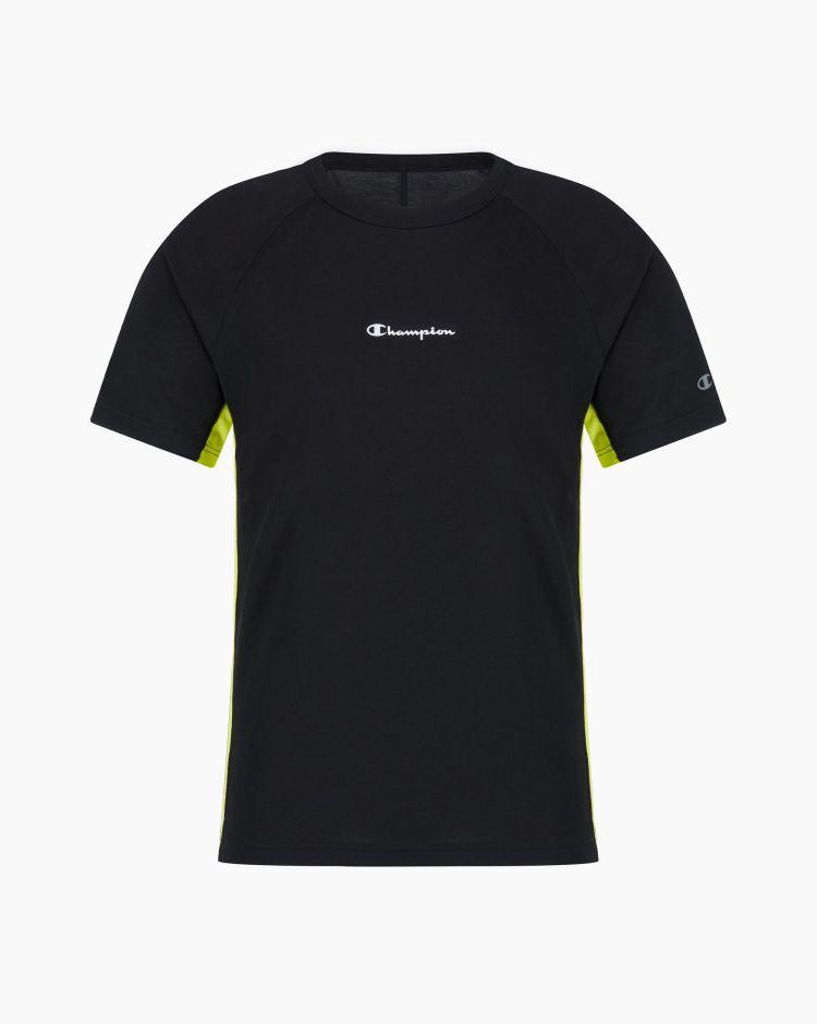 Champion T-shirt con inserti in mesh Nero Uomo