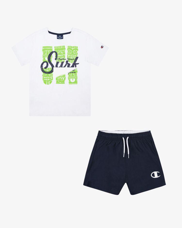 Champion Set t-shirt + shorts Bambino