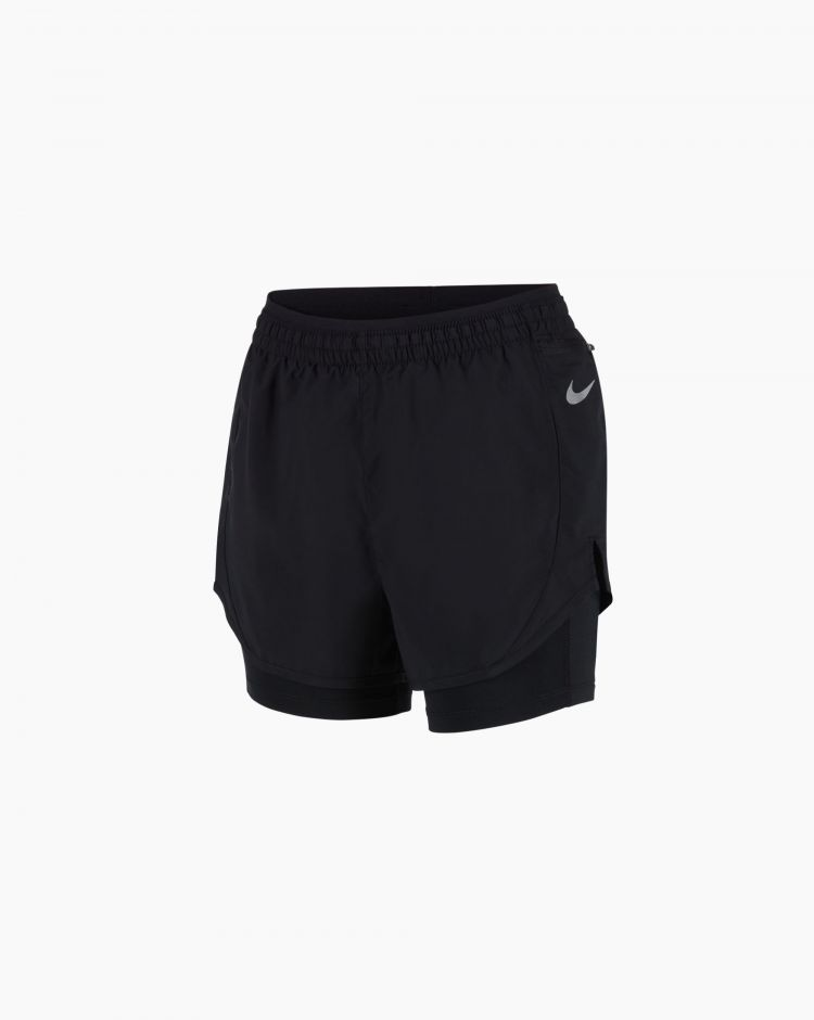 Nike Shorts Nike Tempo Luxe 2-in-1  Nero Donna