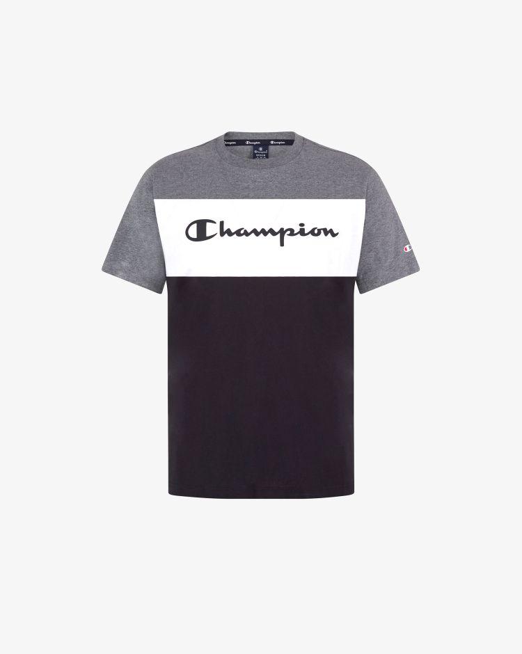 Champion T-shirt color-block con logo Uomo