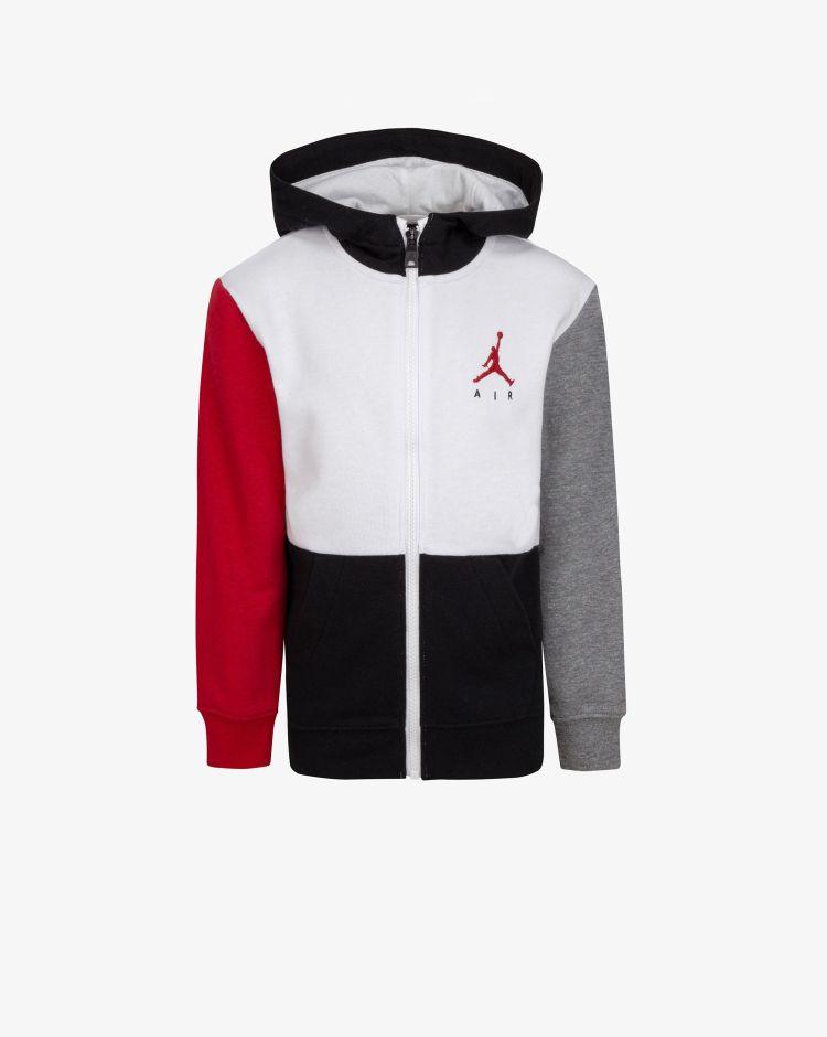 Nike Jordan Felpa con cappuccio e zip Jumpman Air Bambino