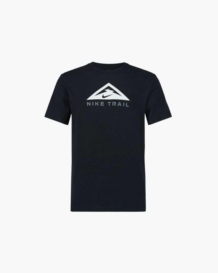 Nike T-shirt Nike Trail Dri-FIT Nero Uomo