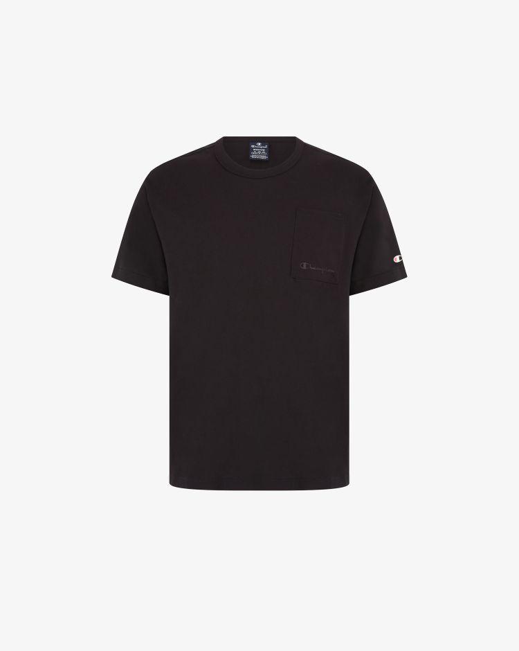 Champion T-shirt con taschino sul petto e logo Uomo