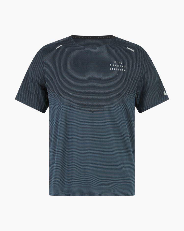 Nike Dfadv Run Dvn Techknit Ss Nero Uomo