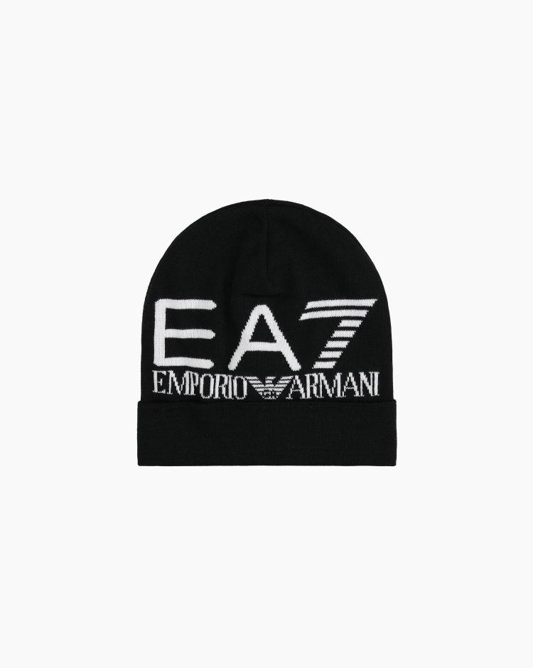 EA7 Oversize Logo Nero Uomo
