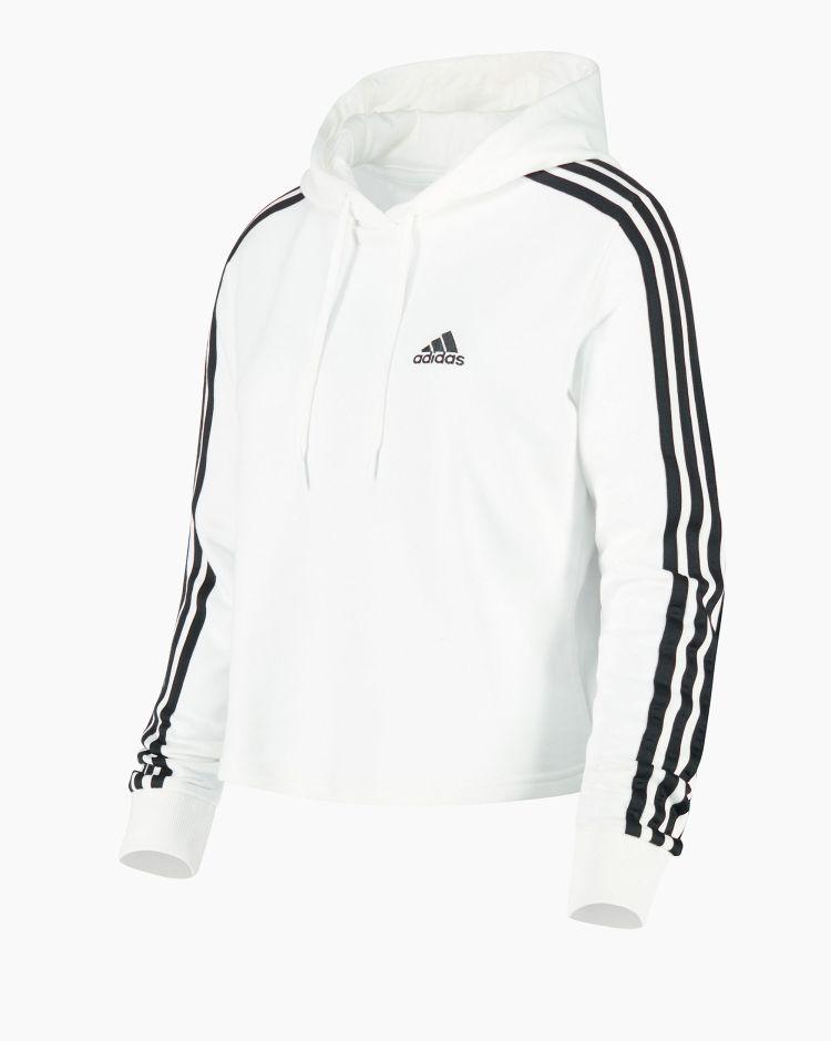 Adidas 3S Ft Cro Hd Bianco Donna