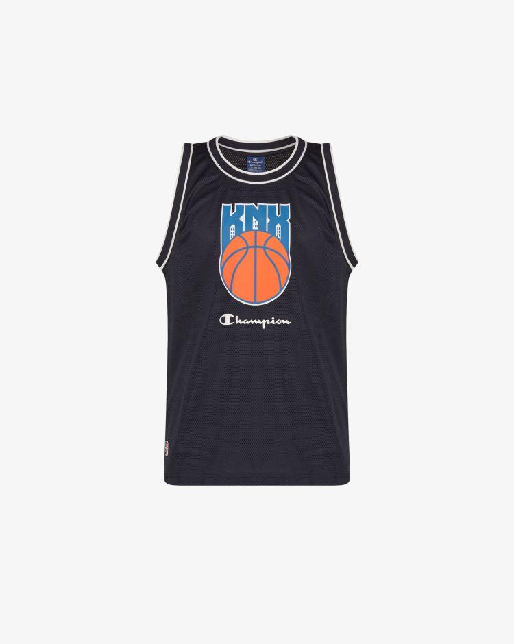 Champion Top Knicks in mesh Uomo
